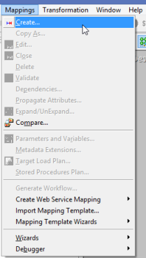 Mappings_Create